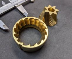 コーヒーグラインダー刃へのTiN膜コーティング