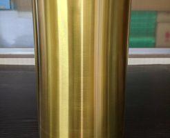 スリーブ管(外側)へのTiN膜コーティング